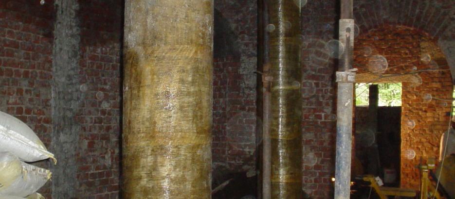 Masonry structure retrofit
